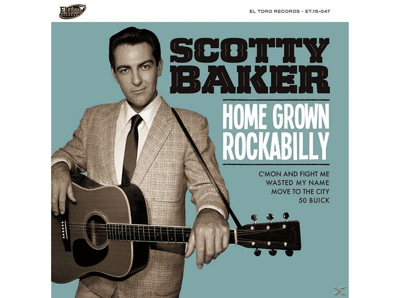 Scotty Baker - Home Grown Rockabilly [Vinyl]