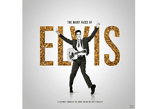 VARIOUS - Many Faces Of Elvis - (CD)