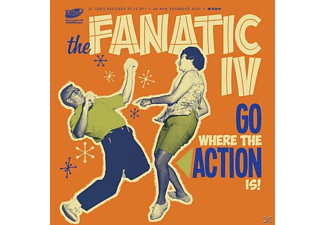 The Fanatic Iv - Go Where The Action Is! Ep - (Vinyl)