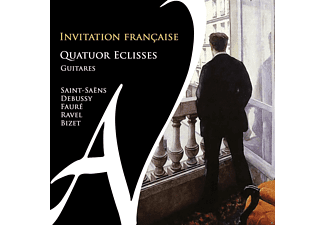 Quatuor Eclisses - Invitation Francaise-Gitarrenmusik - (CD)