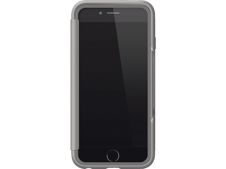 BLACK ROCK Air Bookcover Apple iPhone 6, iPhone 6s Kunststoff/Polycarbonat/Thermoplastisches Polyurethan Grau