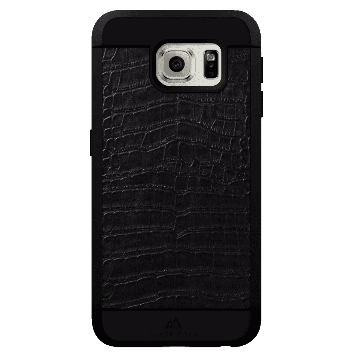 BLACK ROCK Croco für Samsung Galaxy S6 in Schwarz