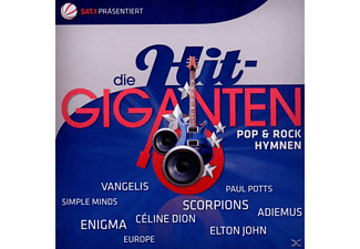 VARIOUS - Die Hit Giganten-Pop & Rock Hymnen - (CD)