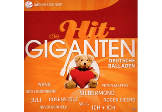 VARIOUS - Die Hit Giganten-Deutsche Balladen - (CD)