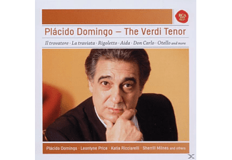 Plácido Domingo - Placido Domingo-The Verdi Tenor - (CD)