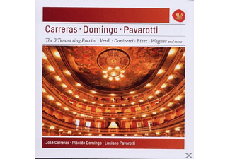 VARIOUS - Pavarotti - Domingo - Carreras: Best Of The 3 Tenors - (CD)
