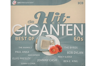 VARIOUS - Die Hit Giganten-Best Of 60's - (CD)