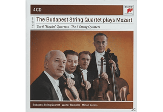 Wolfgang Amadeus Mozart - The 6 Haydn Quartets & The 6 Streichquartette - (CD)