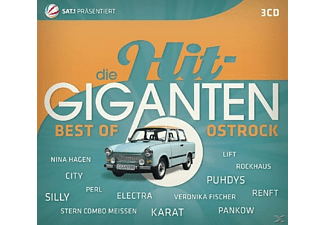 VARIOUS - Die Hit Giganten Best Of Ostrock - (CD)