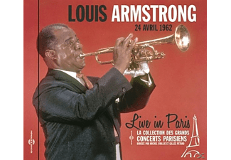 Louis Armstrong - Live In Paris 24 Avril 1962 - (CD)
