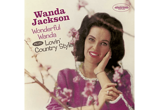 Wanda Jackson - Wonderful Wanda+Lovin' Country Style+6 - (CD)