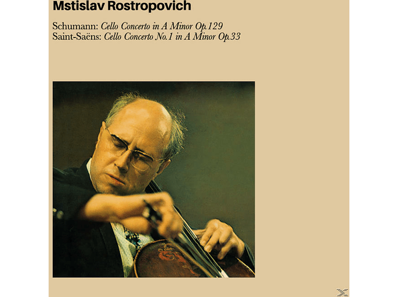 Mstislav Rostropovich, Moscow Philharmonic Orchestra, The Ussr  Radio Symphony Orchestra - Schumann Cello Concerto In A Minor Op.129/+ [CD]
