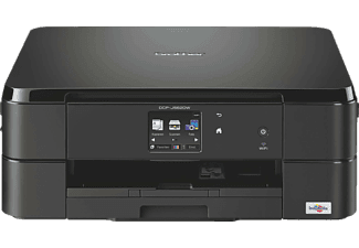 BROTHER DCP-J562DW, 3-in-1 Tinten-Multifunktionsdrucker, Schwarz