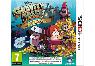 Gravity Falls Legend of the Gnome Gemulets Nintendo 3DS