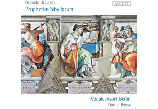 Vocalconsort Berlin, Daniel Reuss - Prophetiae Sibyllarum - (CD)