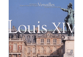 Les Arts Floraissants, La Chapelle Royale - Louis Xiv - Music For The Sun King At Versailles - (CD)