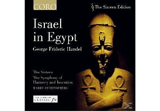 Harry Christophers - ISRAEL IN EGYPT - (CD)