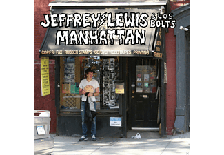 Jeffrey Lewis, Los Bolts - Manhattan - (Vinyl)
