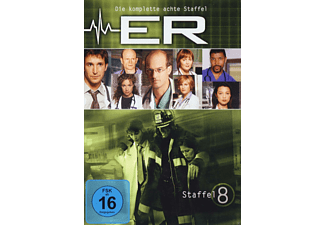 E.R. - Emergency Room - Staffel 8 - (DVD)