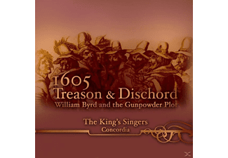 The King's Singers - 1605: TREASON & DISCHORD - (CD)