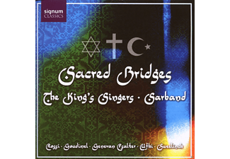 The King Singers, Sarband - Sacred Bridges - (CD)