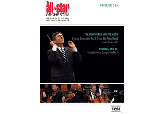 The All-star Orchestra - All Star Orchestra - Programs 3 & 4: The New World And Its Music / Politics And Art - (DVD)