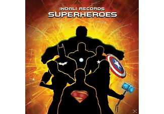 VARIOUS - Superheroes - (CD)