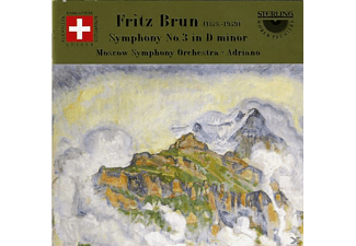 So Moscow & Adriano, Brun - Brun Sinf.3 - (CD)