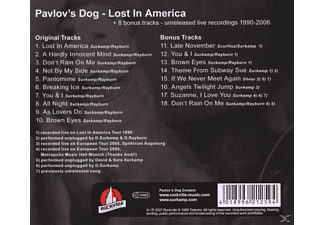 Pavlov's Dog - Lost In America (+Bonus) - (CD)