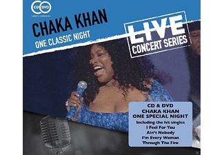 Chaka Khan - One Classic Night - (CD + DVD Video)