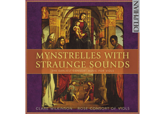 VARIOUS - Mynstrelles With Straunge Sounds [CD]