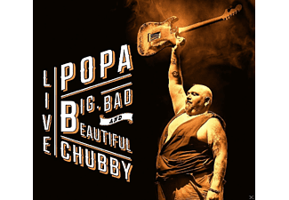 Popa Chubby - Big, Bad And Beautiful Live [CD]