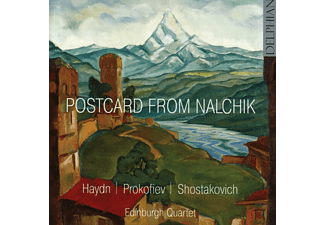 The Edinburgh Quartet - Postcard From Nalchik - (CD)