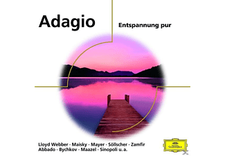 VARIOUS, Various Orchestras - Adagio - Entspannung Pur - (CD)