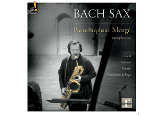 Pierre-stephane Meuge - Bach Sax - (CD)