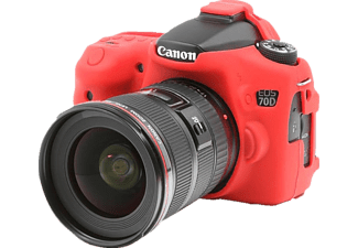 EASYCOVER Camera case for Canon 70D Red - (ECC70DR)