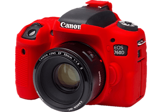 EASYCOVER Camera case for  Canon 760D / Rebel T6s Red - (ECC760DR)