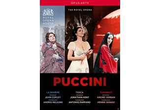 VARIOUS, Royal Opera Chorus, Orchestra Of The Royal Opera House - La Boheme/Tosca/Turandot - (DVD)