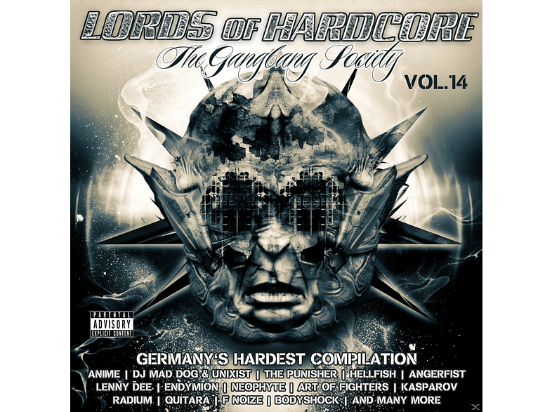 VARIOUS - Lords Of Hardcore Vol.14 - The Gangland Society [CD]