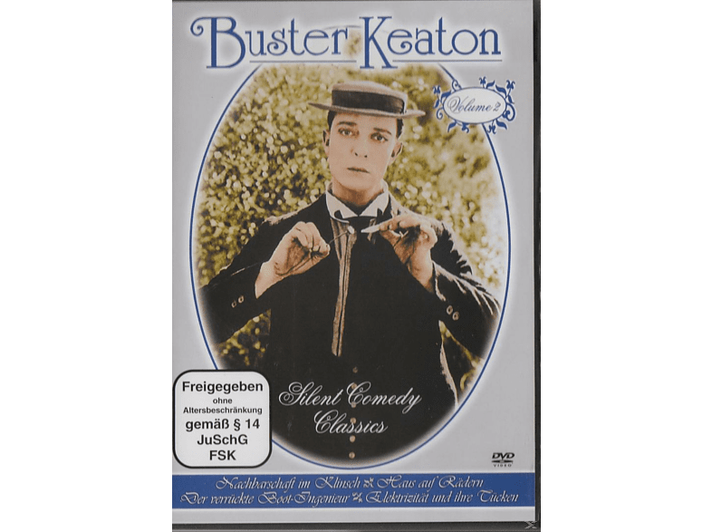 Buster Keaton - Vol. 2 - Silent Comedy Classics [DVD]