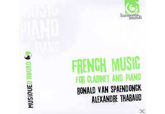 Alexandre Tharaud - French Music For Clarinet & Piano - (CD)