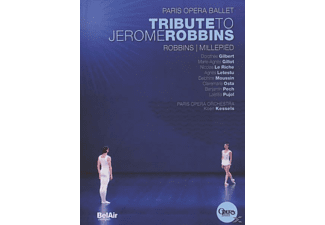 Paris Opera Ballet, Robbins, Millepied, Dorothee Gilbert, Marie-Agnes Gillot, Nicolas Le Riche, Agnes Letestu, Delphine Moussin, Clairmarie Osta, Benjamin Pech, Laetitia Pujol, Paris Opera Orchestra - Tribute To Jerome Robbins - (DVD)