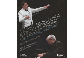 Bringuier,Lionel/Freire,Nelson/BBC SO - Live At The Royal Albert Hall - (Blu-ray)