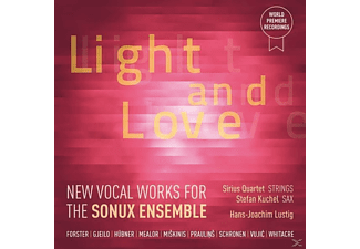 Sonux Ensemble, Hans-joachim Lustig, Sirius Quartet, Stefan Kuchel - Light and Love - (CD)