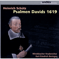 Windsbacher Knabenchor - Psalmen Davids 1619 [CD]