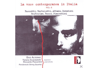 Duo Alterno, Penderecki String Quartet - La Voce Contemporanea In Italia, Vol. 4 - (CD)