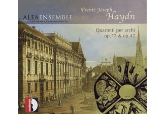 Alea Ensemble On Period Instruments - Haydn: Quartetti Per Archi Op.77 & Op.42 - (CD)