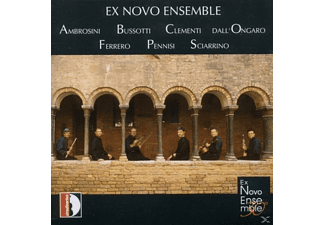 Ex Novo Ensemble & Bussottti - Chamber Music: Ex Novo Ensemble - (CD)