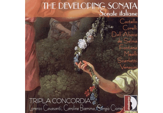 Tripla Concordia - The Developing Sonata-Sonate italiane - (CD)