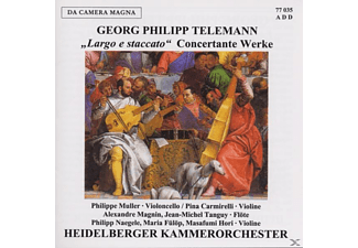 Heidelberger Kammerorchester - Largo E Staccato-Concertante - (CD)